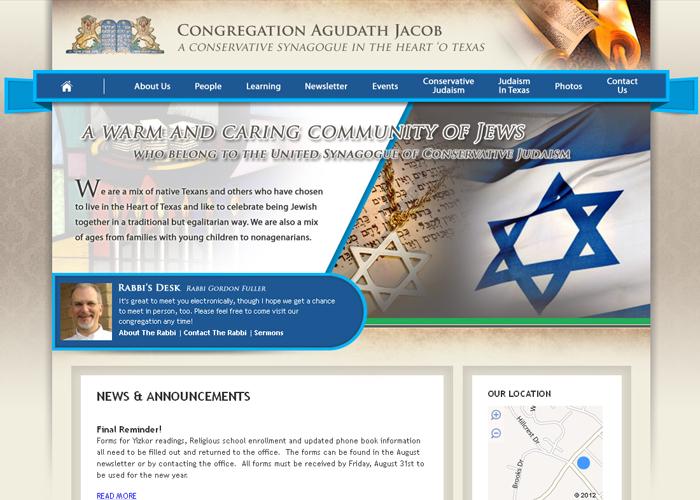 Congregation Agudath Jacob - agudath-waco.org