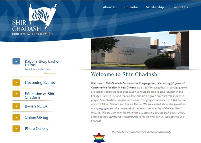Shir Chadash - shirchadash.org