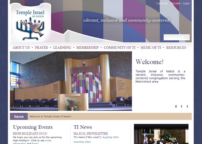 Temple Israel - tiofnatick.org
