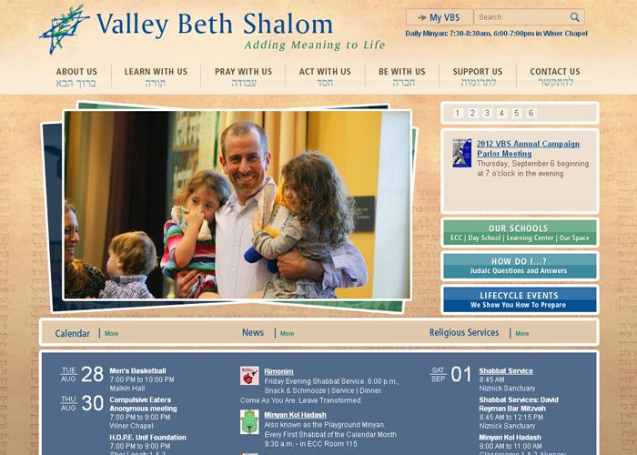 Valley Beth Shalom - vbs.org