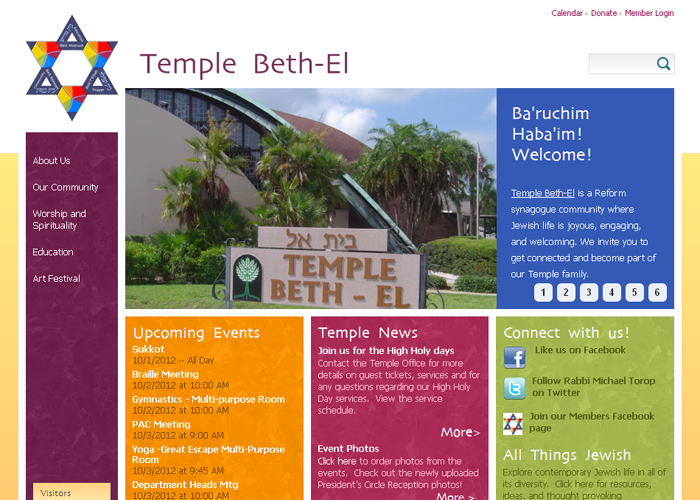 22 of the Best Reform Temple Websites