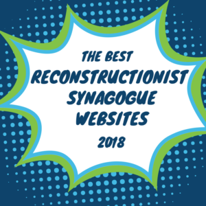the best reconstructionist synagogue websites