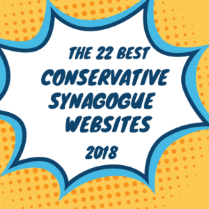 best conservative synagogue websites