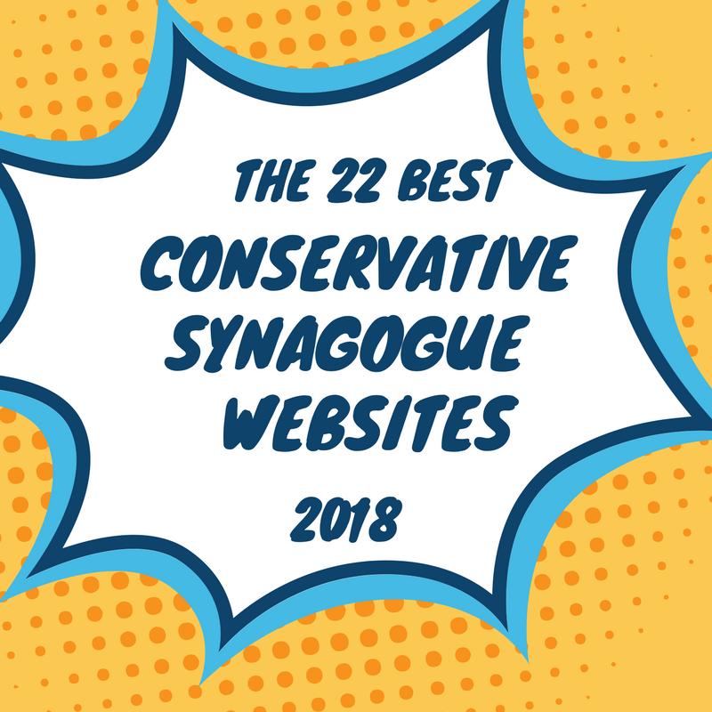 best conservative synagogue websites