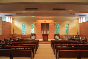 empty sanctuary synagogue website