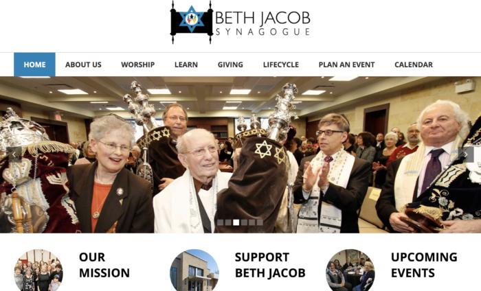 Beth-Jacob-Synagogue-best synagogue websites