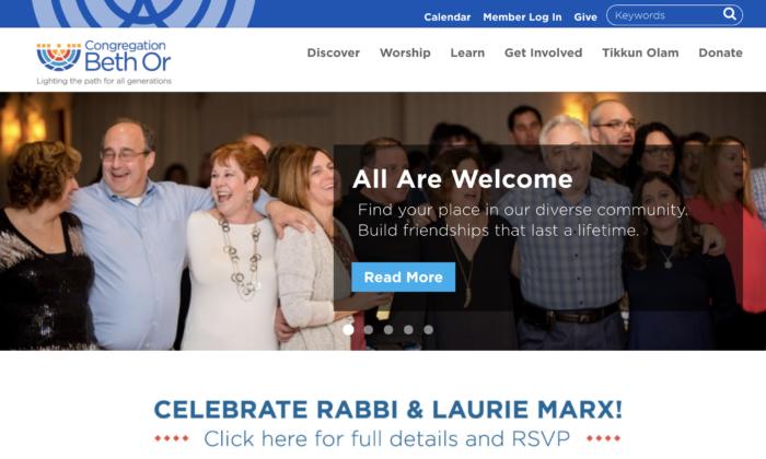 Congregation-Beth-Or-Best-Synagogue-Website-design