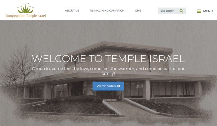Congregation-Temple-Israel-Best-Synagogue-Website-Reform