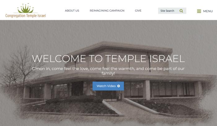 Congregation-Temple-Israel-Best-Synagogue-Website-Reform