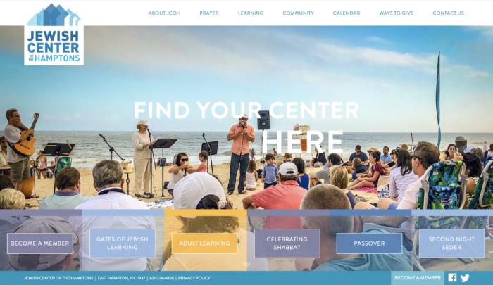 Jewish-Center-of-the-Hamptons-best-synagogue-website-Reform Temples-design
