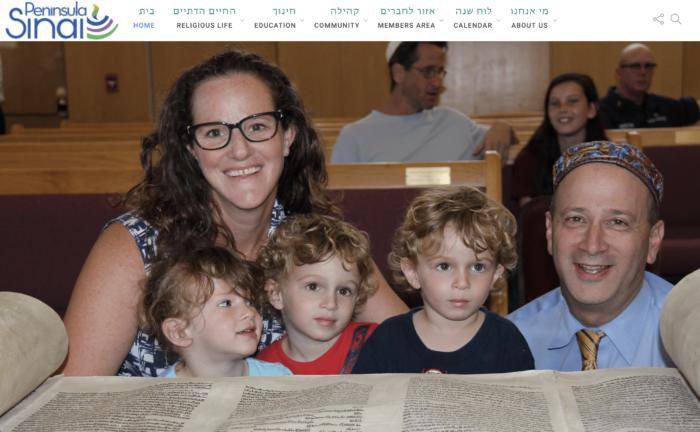 Peninsula Sinai best synagogue website