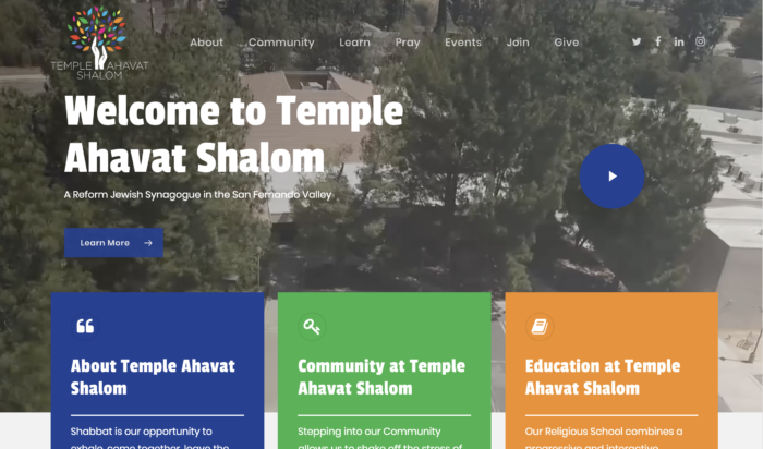 Temple-Ahavat-Shalom-Best-Synagogue-Website-Reform-Temple