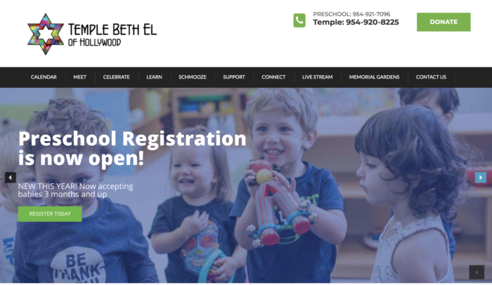 Temple-Beth-El-Hollywood-FL-Best-Synagogue-Website