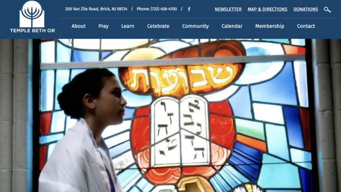 Temple Beth Or best website