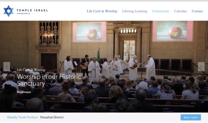 Temple-Israel-Minneapolis-best-Reform-synagogue-website