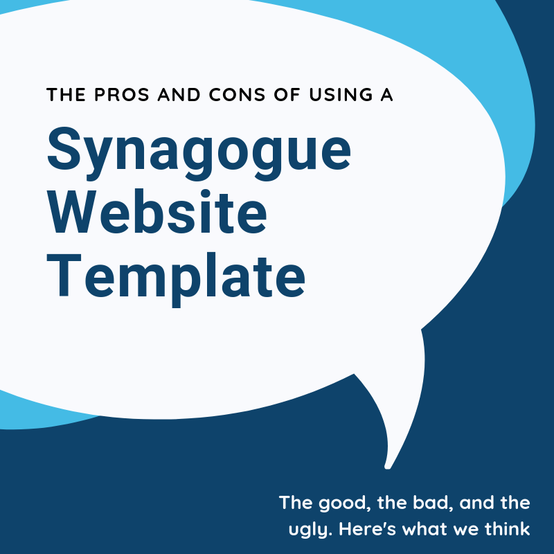Synagogue Website Templates - website design