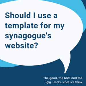 synagogue website template